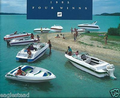 Boat Brochure - Four Winns - Product Line Overview - 1995  (SH11)