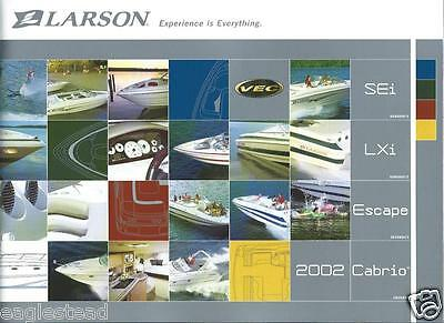 Boat Brochure - Larson - Product Line Overview - 2002  (SH15)
