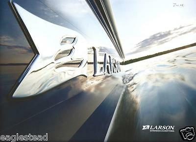 Boat Brochure - Larson - Product Line Overview - c2010  (SH16)