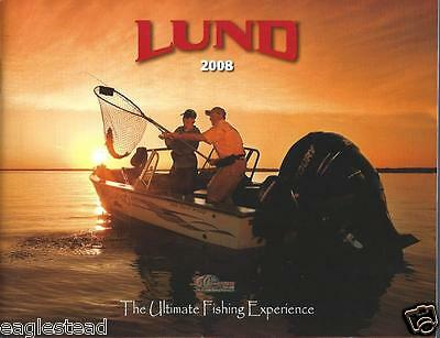 Boat Brochure - Lund - Product Line Overview - 2008  (SH18)