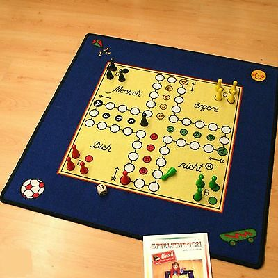 Ludo Your not Play carpet NEW Rug with Figures and Dice