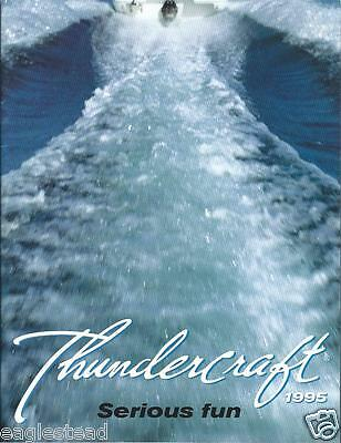 Boat Brochure - Thundercraft - Product Line Overview - 1995  (SH27)