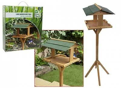 Wholesale-Resellers-6 X LARGE WOODEN GARDEN BIRD TABLE