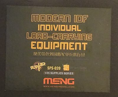 MENG MODEL SPS-020 Modern IDF Individual Load-Carrying Equipment in 1:35