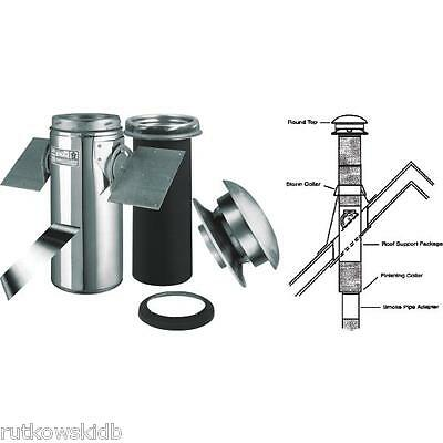 6-INCH SELKIRK Sure-Temp Pitched Ceiling Chimney Support Kit