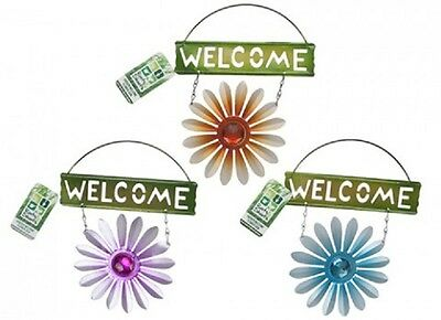 Wholesale-Resellers-24 X WELCOME GARDEN FLOWER SIGN