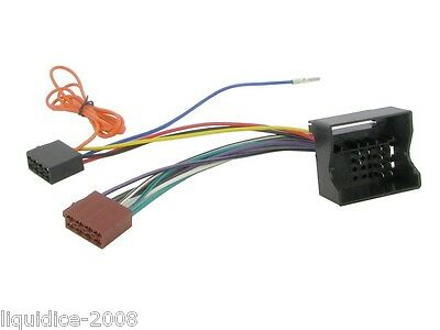 Ct20Pe02 Peugeot 407 2004 >Quadlock ( Fakra ) Iso Lead Stereo Head Unit Adaptor