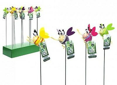 Wholesale-Resellers-24 X HAPPY BUMBLEBEE W/MOVING WINGS  ON STAKE