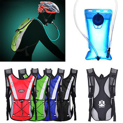 New 2L Water Bladder Bag Backpack Hydration System Camelbak Pack Hiking Camping