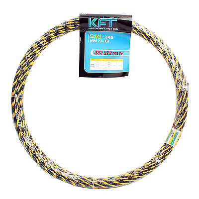Electricians Fish Tape Wire Cable Puller 7mm 20m 66ft