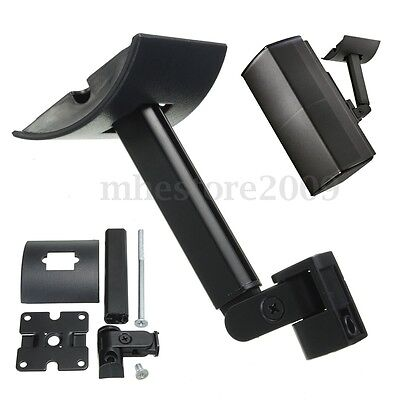 5PCS Black Wall Mount Ceiling Clamping Bracket Clamp For Bose UB-20 Speaker