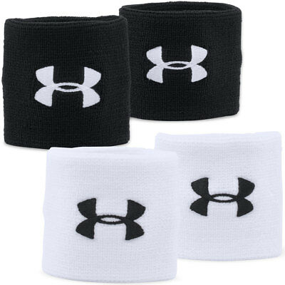 "Under Armour 2017 Mens UA 3"" Performance Wristbands Sports Sweatband"