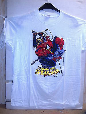 Vintage T-Shirt: Amazing Spider-Man And Venom (Todd McFarlane) (M) (USA, 1989)