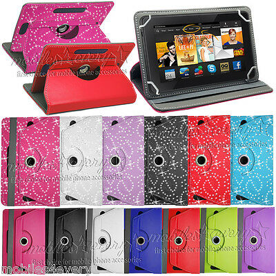 Smart Stand Leather Case Cover For 2015 NEW Amazon Kindle Fire 7'' HD 10''
