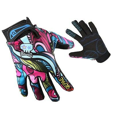 MTB Motorcycle Mountain Bike Cycling Racing Motocross Full Finger Sports Gloves