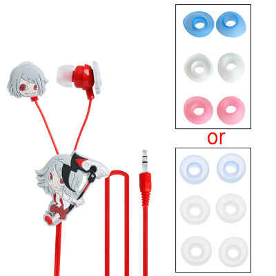 Tokyo Ghoul Anime Cosplay Earphone Ken Kaneki Headset With 3 Earbuds Replacement