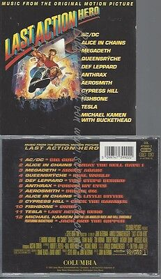 Cd--Alice In Chains--Last Action Hero | Soundtrack // Ac Dc