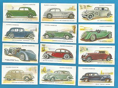 Players cigarette cards - MOTOR CARS  2nd SERIES - Full set