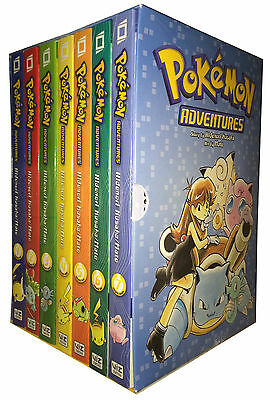 Pokemon Adventures Red & Blue Box Set: Volumes 1-7 by Mato 9781421550060 (2012)