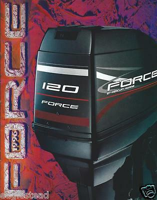 Boat Motor Brochure - Force - Product Line Overview - 1996 (SH57)