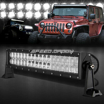 "Dual Row 22""108W 36 Led Light Bar Offroad Truck Suv Flood+Spot Driving Work Lamp"