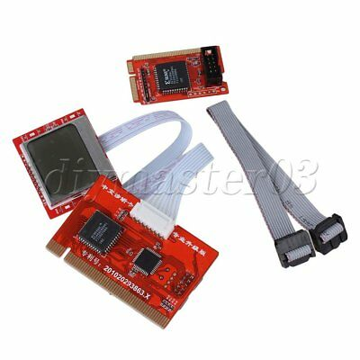 Motherboard Diagnostic Tester Post Card For PCI Mini PCI-E Interface