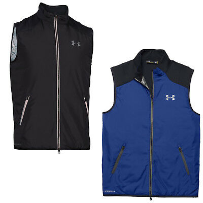Under Armour Mens Coldgear Tips Vest Top Small -New Golf Warm Padded Bodywarmer