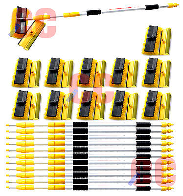 3M Telescopic Water Hose Fed Brush Car Wash Window Cleaning Trade Wholesale X12