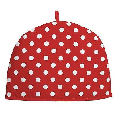 Rushbrookes Red Flamenco Spot Cotton 6 Cup Tea Cosy Cosie