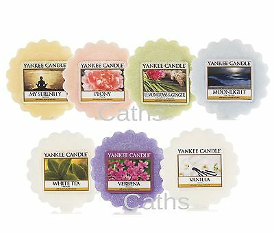 Yankee Candle Wax Tart Melts 2016 Including New Fragrances