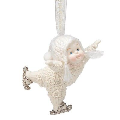 SNOWBABIES Love To Skate  Hanging Ornament Gift Boxed 4037338