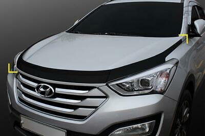 For Hyundai Santa Fe 2013+ Bonnet Guard Protector Set