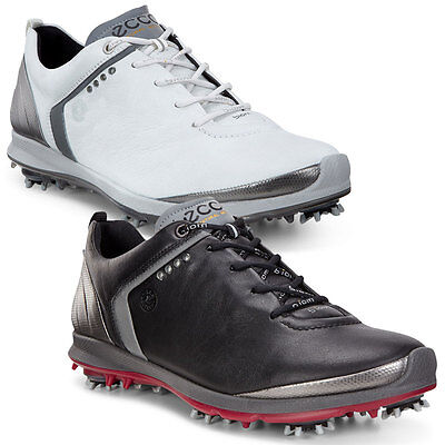 Ecco 2016 Mens Biom G2 Waterproof Gore-Tex Yak Leather Lightweight Golf Shoes