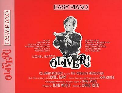 Lionel Bart: Oliver! (Easy Piano) Voice, Piano Accompaniment Sheet Music Mixed S
