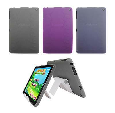"View Stand Holder + TPU Skin Case Cover for Insignia Flex Windows 8.9"" Tablet"