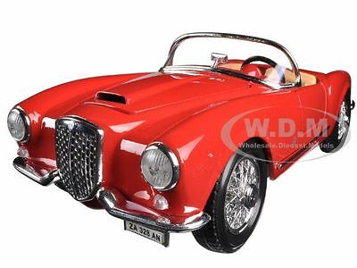 1955 Lancia Aurelia B24 Spyder Red 1/18 Diecast Model Car By Bburago 12048