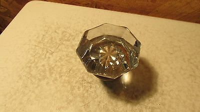 1 Antique Glass Door Knob  No. 9