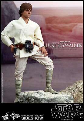Hot Toys Star Wars LUKE SKYWALKER Sixth Scale 1/6 Action Figure MMS 297 Sideshow