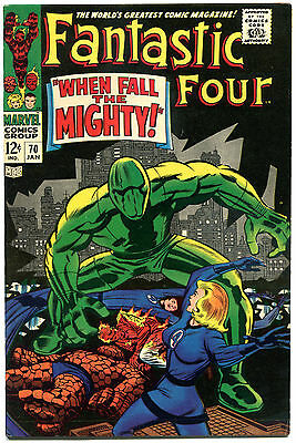 FANTASTIC FOUR #70, VF/NM, Android, Jack Kirby, 1961, more FF in store, QXT