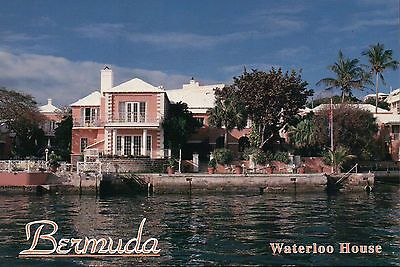 Waterloo House Hotel, Hamilton Harbour Bermuda, United Kingdom, UK --- Postcard