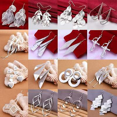 Wholesale High Quality Women Drop/Dangle Earring Silver Plated Jewelry EN24H