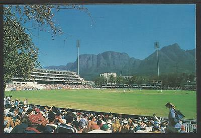 NEWLANDS CRICKET GROUND SOUTH AFRICA. OFFICIAL TCCB  POSTCARD No. 12.
