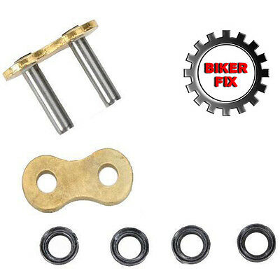 Replacement Soft Rivet Link For 525 X-Ring GTR Heavy Duty GOLD Motorcycle Chains