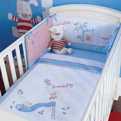 Izziwotnot Time To Play Petit Henri Cot/Cot Bed Quilt