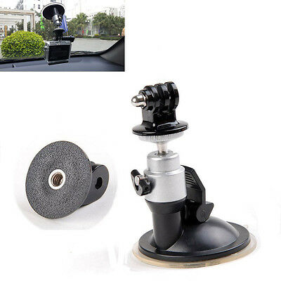 EEEKit Car Ballhead Tripod Suction Cup Mount+Adapter for GoPro Hero 5 Black 4/3+