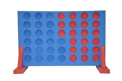 Giant Connect Four 4 In A Row Outdoor Garden Pub Bbq Retro Fun Party Game Toy