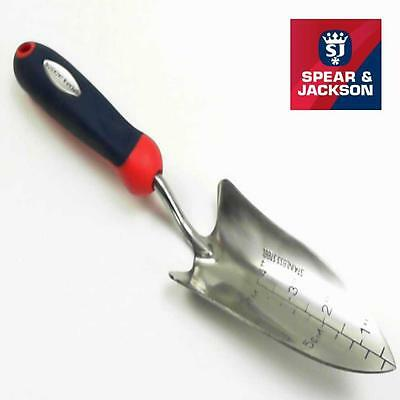SPEAR AND JACKSON STAINLESS STEEL SELECT TRANSPLANTING TROWEL 1O year GUARANTEE