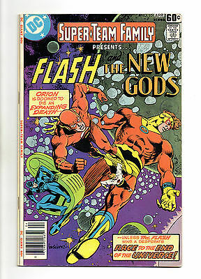 Super-Team Family No 15 Apr 1978 (VFN-) Flash and The New Gods ,Bronze Age