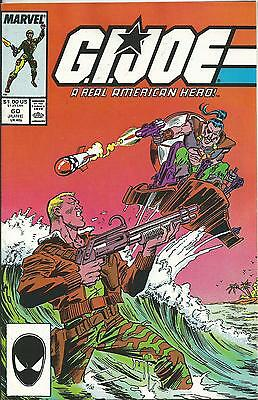 G.i.joe: A Real American Hero #60  (Marvel) (1987)