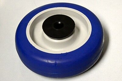 "3 1/2"" x 1 1/4"" Caster Wheel-1KB27A- 360 Lb Capacity - Polyurethane Soft Tread."